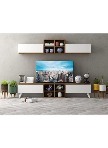 Sanal Mobilya Gıgant Tv Ünitesi Beyaz